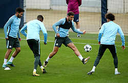 Kyle Walker of Manchester City trains with team mates  - Mandatory by-line: Matt McNulty/JMP - 12/09/2017 - FOOTBALL - City Football Academy - Manchester, England - Feyenoord v Manchester City - Training Session - UEFA Champions League - Group F
