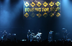 BRUSSELS, BELGIUM - OCT-1-2004 - Bowling For Soup performs to a sold out crowd at Forest National arena in Brussels. (Photo © Jock Fistick)