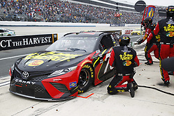 May 6, 2018 - Dover, Delaware, United States of America - Martin Truex, Jr (78) comes down pit road for service during the AAA 400 Drive for Autism at Dover International Speedway in Dover, Delaware. (Credit Image: © Justin R. Noe Asp Inc/ASP via ZUMA Wire)