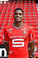 Gerzino Nyamsi during photoshooting of Stade Rennais for new season 2017/2018 on September 19, 2017 in Rennes, France. (Photo by Philippe Le Brech/Icon Sport)