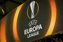 logo europa league during the UEFA Europa League group K match between Vitesse Arnhem and OGC Nice at Gelredome on December 07, 2017 in Arnhem, The Netherlands