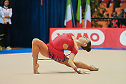 Asia Rigato atleta della società Arcobaleno Prato durante la seconda prova del Campionato Italiano di Ginnastica Ritmica.<br /> La gara si è svolta a Desio il 31 ottobre 2015.