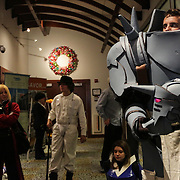 Nick Phillips stands dressed as Alfonz from Full Metal Alchemist Sunday December 7, 2014 during Aniwave 2014 at the Wilmington Convention Center in Wilmington, N.C. (Jason A. Frizzelle)