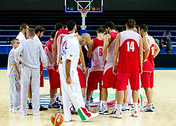 Practice session of Bularian National basketball team 1 day before Eurobasket Lithuania 2011, on August 29, 2011, in Arena Svyturio, Klaipeda, Lithuania. (Photo by Vid Ponikvar / Sportida)