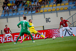 Ivan Firer #7 of NK Domzale  during 2nd Leg football match between FC Valur Reykjavik and NK Domzale in 2nd Qualifying Round of UEFA Europa League 2017/18, on July 20, 2017 in Domzale, Slovenia. Photo by Grega Valancic / Sportida