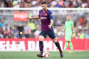 Clement Lenglet of FC Barcelona during the Joan Gamper trophy game between FC Barcelona and CA Boca Juniors in Camp Nou Stadium at Barcelona, on 15 of August of 2018, Spain, Photo Pressinphoto / Pro Shots / ProSportsImages / DPPI