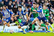 Brighton & Hove Albion midfielder Steven Alzate (46) on the ball during the The FA Cup match between Brighton and Hove Albion and Sheffield Wednesday at the American Express Community Stadium, Brighton and Hove, England on 4 January 2020.