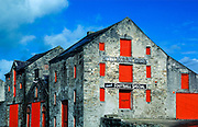 The Quays. Bottling company warehouse in the town of Ramelton, County Donegal, Ireland