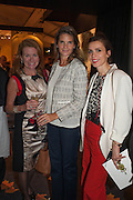 Heather Bronks, Erin Morris and Lara Bohinc at the Opening of The LAPADA  Art and Antiques Fair. Berkeley Sq. London. 24 September 2013.
