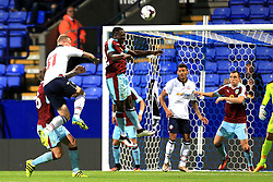 Dan Agyei of Burnley heads the ball clear - Mandatory by-line: Matt McNulty/JMP - 26/07/2016 - FOOTBALL - Macron Stadium - Bolton, England - Bolton Wanderers v Burnley - Pre-season friendly