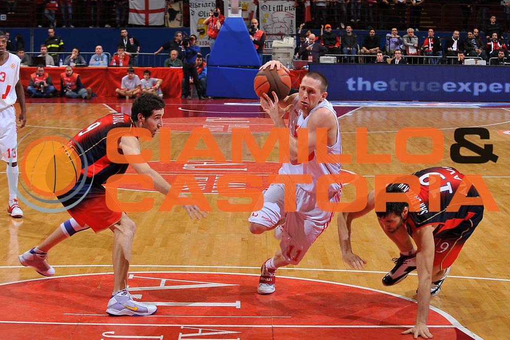 DESCRIZIONE : Milano Eurolega 2008-09 Armani Jeans Milano Tau Vitoria<br /> GIOCATORE : Jobey Thomas<br /> SQUADRA : Armani Jeans Milano<br /> EVENTO : Eurolega 2008-2009<br /> GARA : Armani Jeans Milano Tau Vitoria<br /> DATA : 25/02/2009<br /> CATEGORIA : penetrazione<br /> SPORT : Pallacanestro<br /> AUTORE : Agenzia Ciamillo-Castoria/A.Dealberto