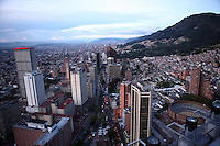 A view of downtown Bogotá on Thursday, September 28, 2006. Bogotá has under gone numerous changes in the past few years that have revitalized the city. (Photo/Scott Dalton).