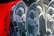 Image of Jizo bosatsus in Koya-san, Japan
