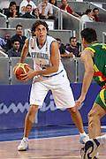 DESCRIZIONE : Madrid Spagna Spain Eurobasket Men 2007 Qualifying Round Italia Lituania Italy Lithuania<br /> GIOCATORE : Marco Mordente<br /> SQUADRA : Italia Italy<br /> EVENTO : Eurobasket Men 2007 Campionati Europei Uomini 2007<br /> GARA : Italia Italy Lituania Lithuania<br /> DATA : 08/09/2007<br /> CATEGORIA : Palleggio<br /> SPORT : Pallacanestro<br /> AUTORE : Ciamillo&amp;Castoria/E.Castoria