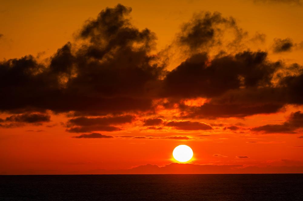Sunset, Point Arena, Mendocino County, California USA