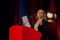 10th Film Festival Lumiere - October 19: Jane Fonda receives the Prix Lumiere 2018.<br /> Dominique Blanc delivers a speech for Jane Fonda during the 10th Prix Lumiere
