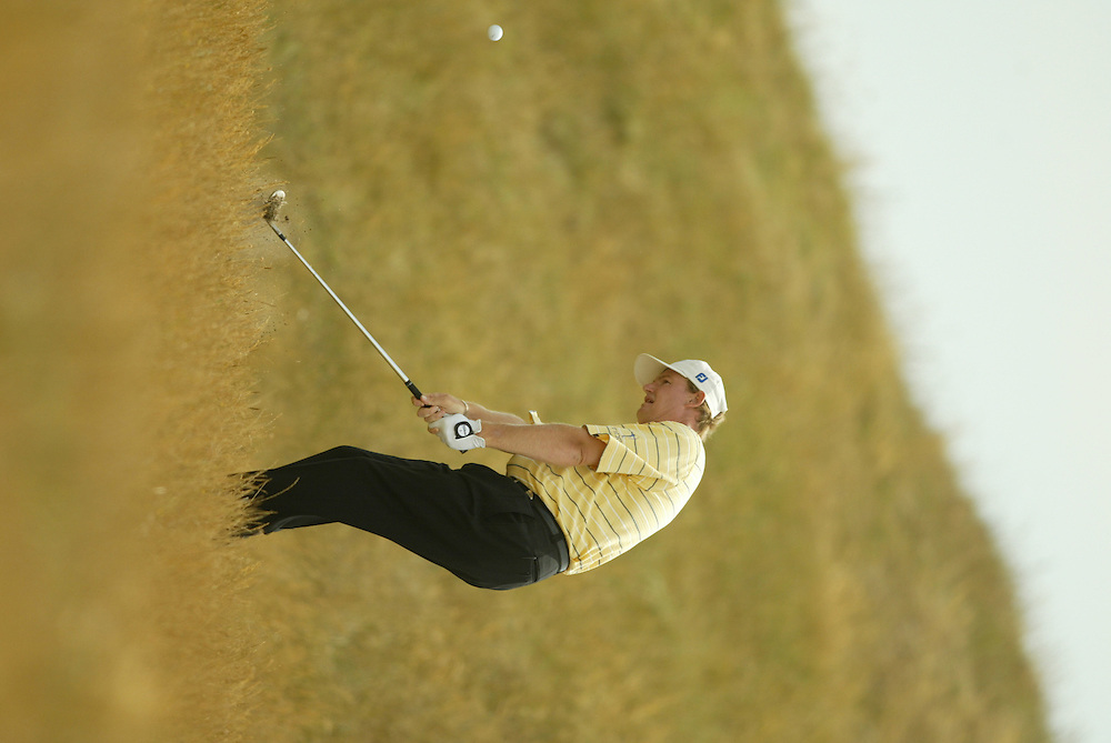 Ernie Els..2003 British Open..Fourth Round..Royal St. George's Golf Club..Sandwich, Kent, England..Sunday, July 20  2003..photograph by Darren Carroll