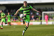 Forest Green Rovers Dayle Grubb(8) controls the ball during the EFL Sky Bet League 2 match between Forest Green Rovers and Grimsby Town FC at the New Lawn, Forest Green, United Kingdom on 5 May 2018. Picture by Shane Healey.