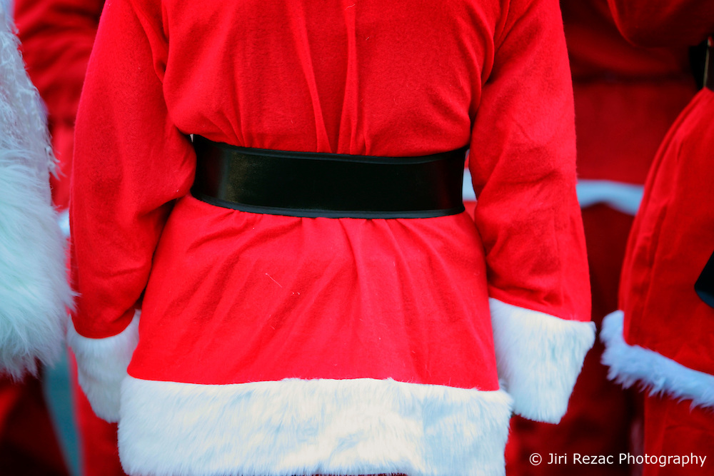 UK ENGLAND LONDON 16DEC06 - Detail view of reveller dressed as Santa Claus gathering at Camden Lock for the annual Santacon outing. Every December for the last 13 years, Cacophonous Santas have been visiting cities around the world, engaging in a bit of Santarchy as part of the annual Santacon events. . . It all started back in 1994 when several dozen Cheap Suit Santas paid a visit to downtown San Francisco for a night of Kringle Kaos. Things have reached Critical Xmas and Santarchy is now a global phenomenon.. . jre/Photo by Jiri Rezac. . © Jiri Rezac 2006. . Contact: +44 (0) 7050 110 417. Mobile:  +44 (0) 7801 337 683. Office:  +44 (0) 20 8968 9635. . Email:   jiri@jirirezac.com. Web:    www.jirirezac.com. . © All images Jiri Rezac 2006 - All rights reserved.