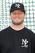 Nick Maronde.<br /> New Zealand Diamond Blacks Baseball Team headshots.<br /> Llloyd Elsmore Park, Pakuranga, Auckland, New Zealand. 4 February 2016.<br /> Copyright photo: Andrew Cornaga / www.photosport.nz