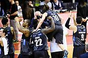 Dolomiti Energia Aquila Basket Trento<br /> Grissin Bon Pallacanestro Reggio Emilia - Dolomiti Energia Aquila Basket Trento<br /> Lega Basket Serie A 2016/2017<br /> Reggio Emilia, 26/02/2017<br /> Foto A.Giberti / Ciamillo - Castoria
