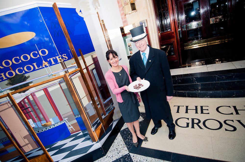 PR Photography for Rococo chocolates part of the Chester Grosvenor Hotel. Showcasing the opening of the new store. Photographed by Chester & Cheshire photographer Ioan Said.