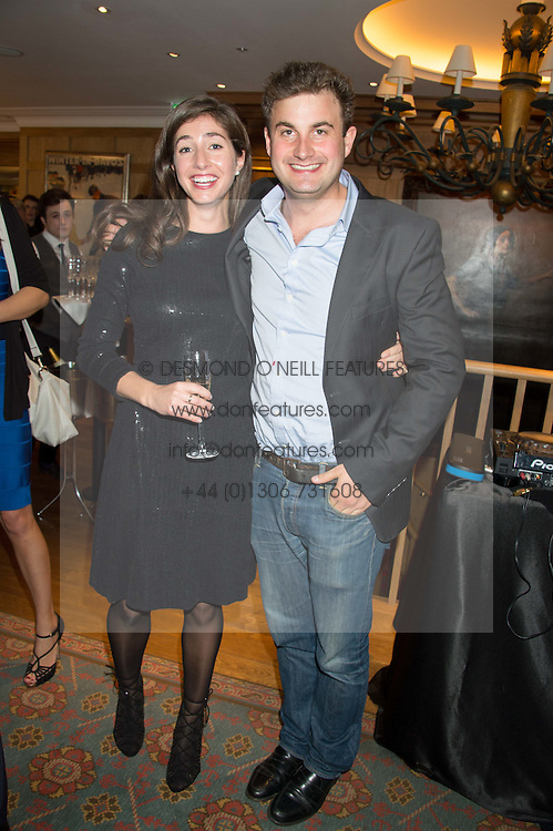 SUZIE DOWTYand MALACHY GUINNESS at the launch of BAR20 at Birleys, 20 Fenchurch Street, City of London on 10th November 2015.