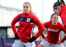 Poppy Pattinson of Bristol City warms up - Mandatory by-line: Nizaam Jones/JMP - 27/01/2019 - FOOTBALL - Stoke Gifford Stadium - Bristol, England - Bristol City Women v Yeovil Town Ladies- FA Women's Super League 1