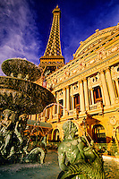 Paris Las Vegas hotel and casino, Las Vegas Boulevard (The Strip), Las Vegas, Nevada, USA