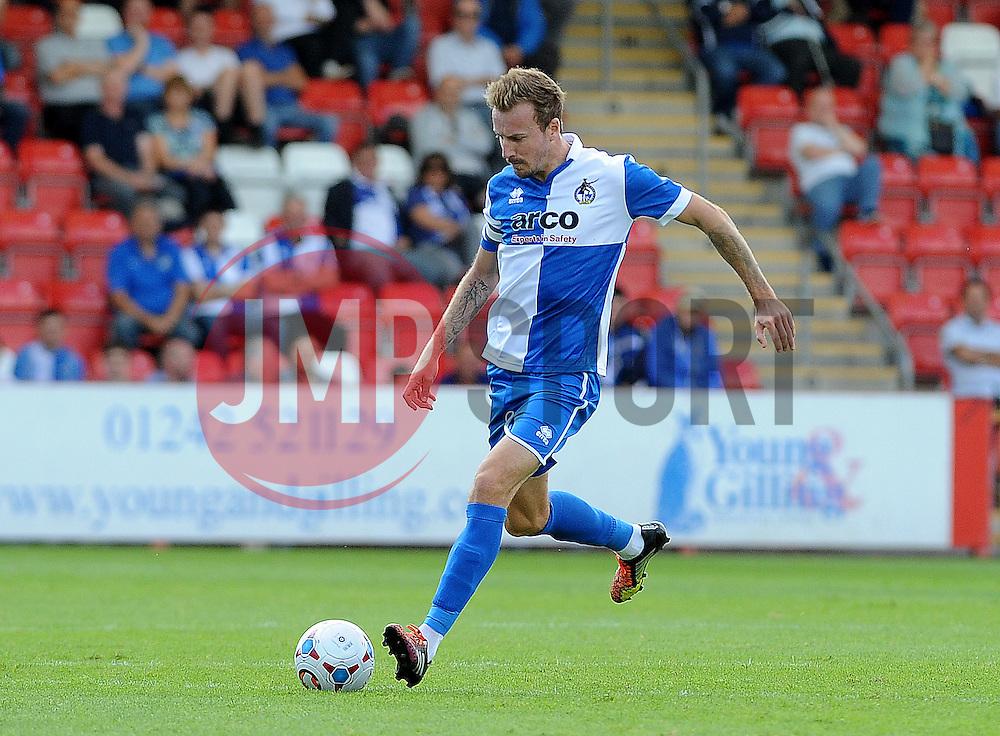 Chris Lines of Bristol Rovers - Mandatory by-line: Neil Brookman/JMP - 25/07/2015 - SPORT - FOOTBALL - Cheltenham Town,England - Whaddon Road - Cheltenham Town v Bristol Rovers - Pre-Season Friendly