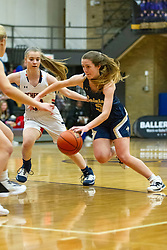 27 December 2019: State Farm Holiday Classic Coed Basketball Tournament , Normal-Bloomington Illinois<br /> <br /> Normal University High Pioneers v Rochester Rockets girls basketball