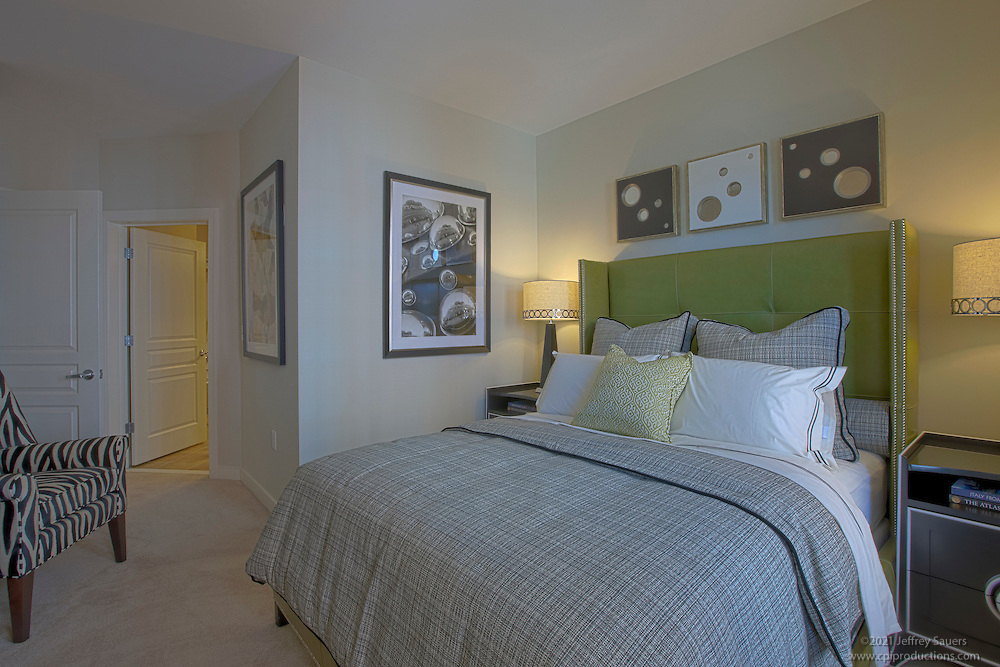Interior Design Photography in DC area of Post Park Apartments in Hyattsville Maryland by Jeffrey Sauers of Commercial Photographics