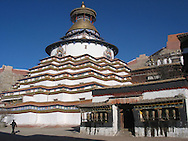 stupa of Gyantse and palkor chode monastry, tibet