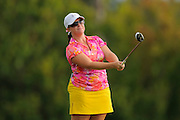 Stephanie Connelly during the first round of the Symetra Tour Championship at LPGA International on Sept. 26, 2013 in Daytona Beach, Florida. <br /> <br /> <br /> ©2013 Scott A. Miller