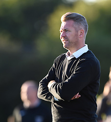 Bristol Academy manager Willie Kirk - Mandatory by-line: Paul Knight/JMP - Mobile: 07966 386802 - 27/08/2015 -  FOOTBALL - Stoke Gifford Stadium - Bristol, England -  Bristol Academy Women v Oxford United Women - FA WSL Continental Tyres Cup