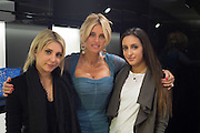 ILANA SCOLARO; ANNA SCOLARO; LYDIA SCOLARO;, Anna Scolaro hosts a charity shopping event at  Dolce and Gabbana, 175 Sloane St. London. In aid of TeamFox.org for Parkinsons. 10 February 2016