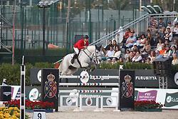 Zvara Ondrej, (CZE), Cento Lano <br /> First Round<br /> Furusiyya FEI Nations Cup Jumping Final - Barcelona 2015<br /> © Dirk Caremans<br /> 24/09/15