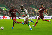 Odsonne Edouard during the Europa League match between Celtic and CFR Cluj at Celtic Park, Glasgow, Scotland on 3 October 2019.