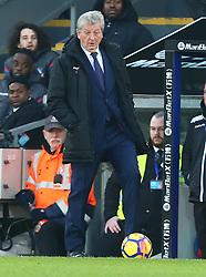 January 13, 2018 - London, England, United Kingdom - Crystal Palace manager Roy Hodgson ..during Premier League  match between Crystal Palace and Burnley at Selhurst Park Stadium, London,  England on 16 Jan 2018. (Credit Image: © Kieran Galvin/NurPhoto via ZUMA Press)