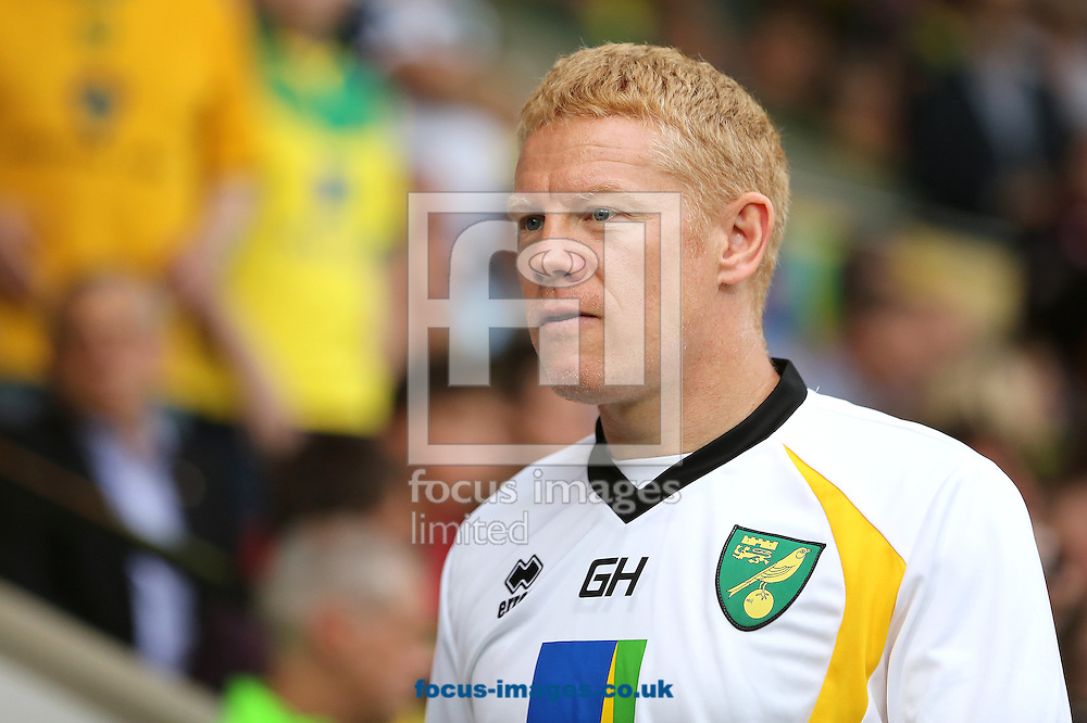 First team coach of Norwich City, Gary Holt during the pre season friendly match at Carrow Road, Norwich<br /> Picture by Richard Calver/Focus Images Ltd +447792 981244<br /> 01/08/2014