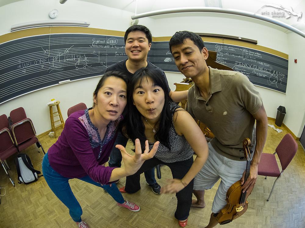 Pinky Quartet loves Nina Lee! #slsq2014
