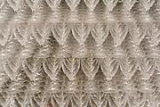 Zwiesel Kristallglas AG, Glaspyramide aus Weingläsern, Zwiesel, Bayerischer Wald, Bayern, Deutschland   Zwiesel Glass factory, glass pyramid of wine glasses, Zwiesel, Bavarian Forest, Bavaria, Germany