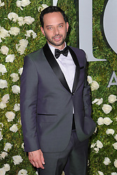 June 11, 2017 - New York, NY, USA - June 11, 2017  New York City..Nick Kroll attending the 71st Annual Tony Awards arrivals on June 11, 2017 in New York City. (Credit Image: © Kristin Callahan/Ace Pictures via ZUMA Press)