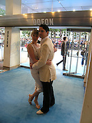 "Jimmy Carr and  Caroline Copping. The UK Premiere of ""The Island"" at the Odeon Leicester Square, London. 7 August 2005. , ONE TIME USE ONLY - DO NOT ARCHIVE  © Copyright Photograph by Dafydd Jones 66 Stockwell Park Rd. London SW9 0DA Tel 020 7733 0108 www.dafjones.com"
