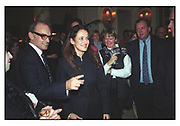 NICHOLAS COLERIDGE, ISABEL GOLDSMITH, TATLER TRAVEL AWARDS, Ritz, 1998