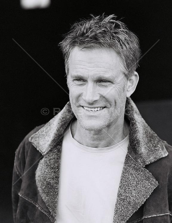 Mature man, smiling