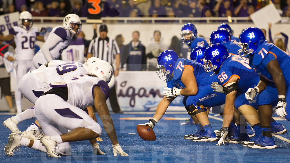 Boise State Football vs Washington, Albertsons Stadium, Allison Corona Photo