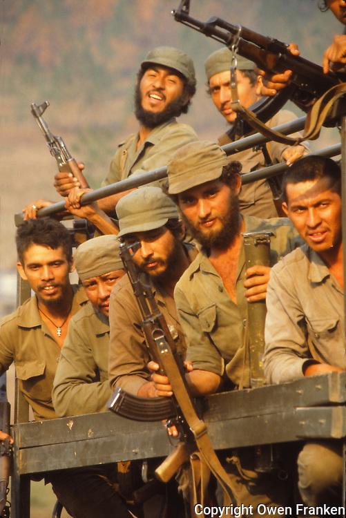 Sandinista soldiers, Nicaragua