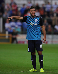 QPR's Michael Doughty - Photo mandatory by-line: Harry Trump/JMP - Mobile: 07966 386802 - 11/08/15 - SPORT - FOOTBALL - Capital One Cup - First Round - Yeovil Town v QPR - Huish Park, Yeovil, England.