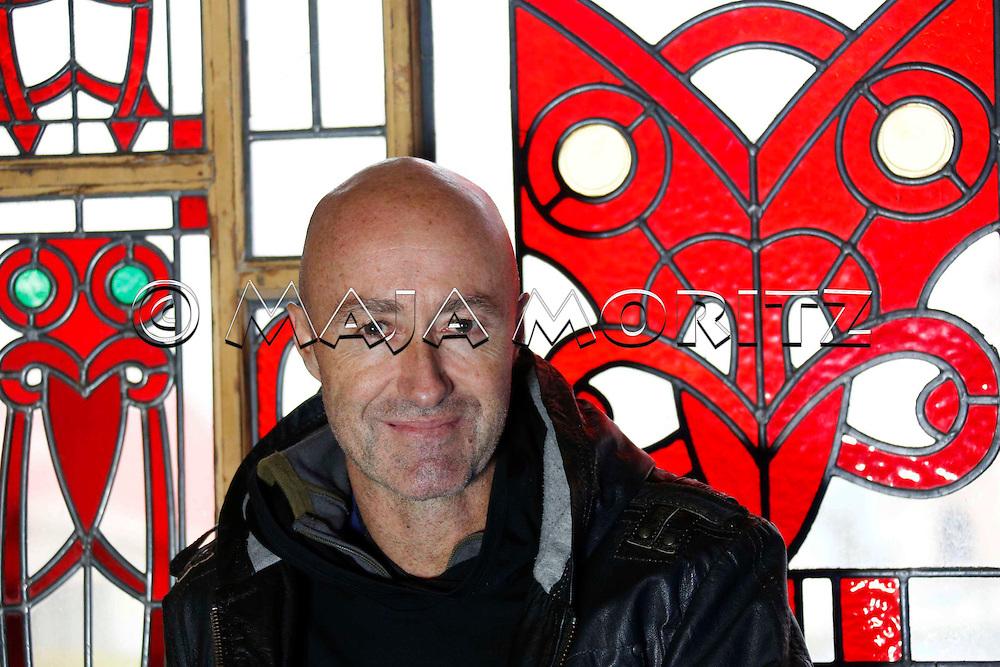 Paul Tapsell in his Marae in Rotorua, Te Papaiouru Marae, Ohinemutu, Rotorua, New Zealand